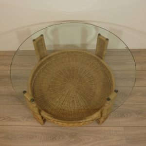 Amazone 90 cm Rotan Salontafels