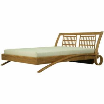 Manou Bed 590 Rotan Bedden