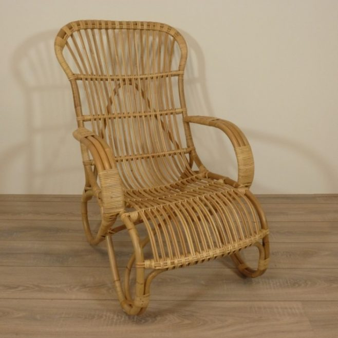 Belse acht retro rotan stoelen rotanspeciaalzaak c j rotan for Tuinstoel rotan