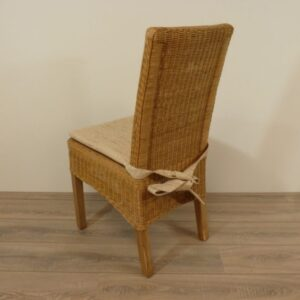 Fredy Pitriet Honingkleur Teak Rotan Eetkamerstoelen Rotan meubelen meubels rieten stoelen rotan eetkamerstoelen eetstoelen rotanspeciaalzaak rotanspecialist rotan eethoek eetkamerstel