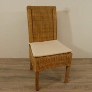 eetkamerstoelen rotan Fredy Pitriet Honingkleur Teak Rotan Eetkamerstoelen Rotan meubelen meubels rieten stoelen rotan eetkamerstoelen eetstoelen rotanspeciaalzaak rotanspecialist rotan eethoek eetkamerstel