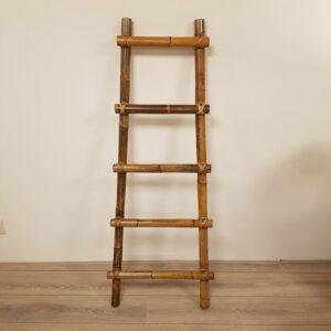 Decoratieve Ladder Rotan Trap 150cm Donker