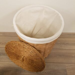 Wasmand Rond 45 cm Rotan Honing