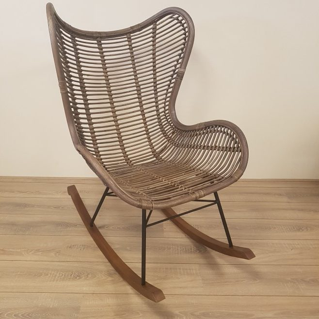 Kussen Voor Rotan Schommelstoel.Schommelstoel Bergamo Stoel Kubu Grey Rotan Egg Chair